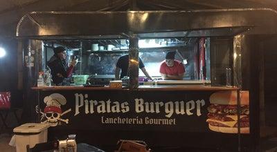 Photo of American Restaurant Piratas Burguer at Av. Octávio Gamma, Paraty 23970-000, Brazil