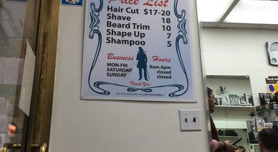 Photo of Salon / Barbershop Pine Street Barber Shop at 79 Pine St, New York, NY 10005, United States