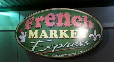 Photo of American Restaurant French Market Express at 5109 University Pkwy, Natchitoches, LA 71457, United States