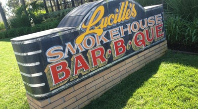 Photo of American Restaurant Lucille's Smokehouse Bar-B-Que at 11338 South St, Cerritos, CA 90703, United States