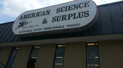 Photo of Miscellaneous Shop American Science and Surplus at 6901 W Oklahoma Ave, Milwaukee, WI 53219, United States