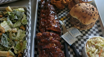 Photo of American Restaurant Big Chris BBQ Smokehouse at 110 Anne St. S., Barrie L4N 2E3, Canada