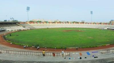 Photo of Cricket Ground Sardar Patel Stadium Navrangpura at Ahmedabad, India