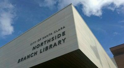 Photo of Library Northside Branch Library at 695 Moreland Way, Santa Clara, CA 95054, United States