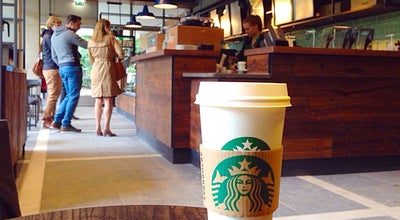 Photo of Restaurant Starbucks Tilburg University at Warandelaan 2, Tilburg 5037 AB, Netherlands