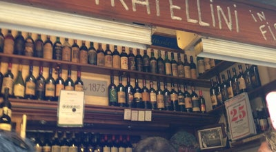 Photo of Italian Restaurant I Due Fratellini at Via Dei Cimatori 38/r, Florence 50122, Italy