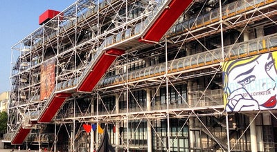 Photo of Art Museum Centre Pompidou – Musée National d'Art Moderne at Place Georges Pompidou, Paris 75004, France