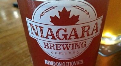 Photo of American Restaurant Niagara Brewing Company at 4915a Clifton Hill, Niagara Falls L2G 3N5, Canada