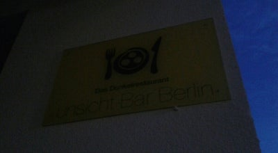 Photo of Modern European Restaurant unsicht-bar at Gormannstr.14, Berlin 10119, Germany