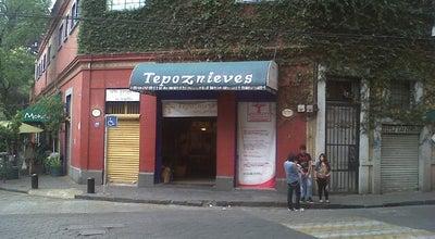 Photo of Ice Cream Shop Tepoznieves at Coyoacan, Coyoacán 04000, Mexico