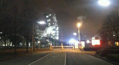 Photo of Monument / Landmark Monument chemical at Haven 1972, Kallo 9130, Belgium