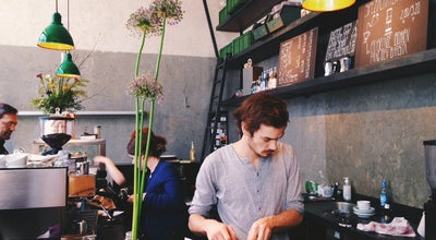 Photo of Cafe Café 9 at Eisenbahnstr. 42, Berlin 10997, Germany