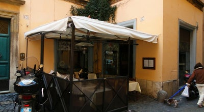 Photo of Italian Restaurant Trattoria Moderna at Vicolo Dei Chiodaroli 16, Rome 00186, Italy
