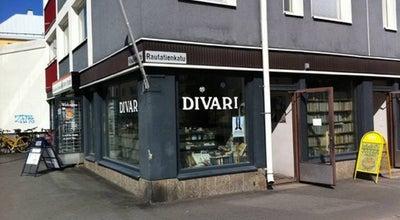 Photo of Bookstore Antikvariaatti Oulun Ale-Kirja at Rautatienkatu 16, Oulu 90100, Finland