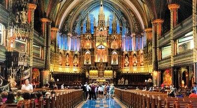 Photo of Church Basilique Notre-Dame at 110, Rue Notre-dame Ouest, Montréal, QC H2Y 1T2, Canada
