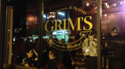Photo of American Restaurant Grim's Butterfly Lounge at 1512 11th Ave, Seattle, WA 98122, United States