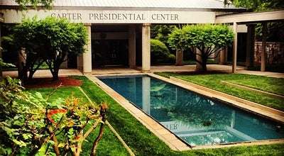 Photo of Library Jimmy Carter Library & Museum at 441 Freedom Parkway, Atlanta, GA 30307, United States