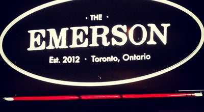 Photo of Restaurant Emerson at 1279 Bloor St W, Toronto M6H 1N7, Canada
