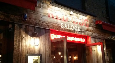 Photo of American Restaurant Red Dog Saloon at 37 Hoxton Square, London N1 6NN, United Kingdom