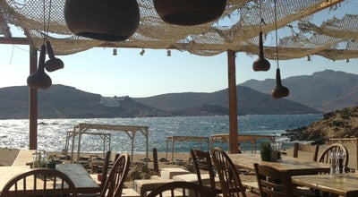 Photo of Seafood Restaurant Alemagou Beach Bar at Fetelia Beach 'on The Edge', Mykonos Town, Greece