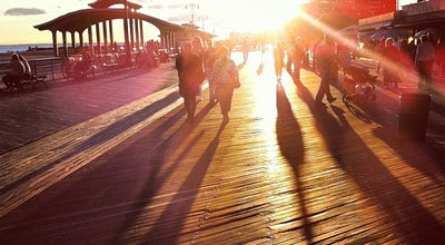 Photo of Beach Riegelmann Boardwalk at Brooklyn, NY 11235, United States
