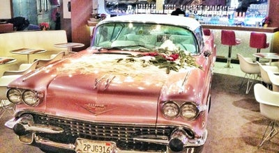 "Photo of American Restaurant The Pink Cadillac at Тц ""орджоникидзе"", Москва 123242, Russia"