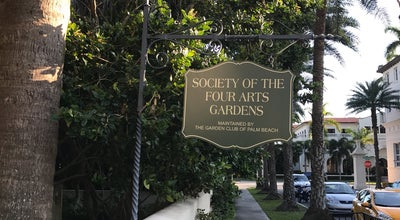 Photo of Garden Society of the Four Arts Gardens at 3 Society Four Arts Plaza, Palm Beach, FL 33480, United States