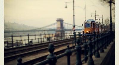 Photo of Scenic Lookout Duna korzó at Erzsébet Híd - Lánchíd, Budapest, Hungary