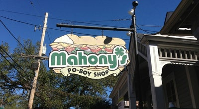 Photo of Sandwich Place Mahony's Po-Boy Shop at 3454 Magazine St, New Orleans, LA 70115, United States