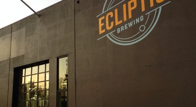 Photo of American Restaurant Ecliptic Brewing at 825 N Cook St, Portland, OR 97227, United States