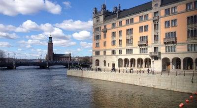 Photo of Bridge Riksbron at Stockholm, Sweden