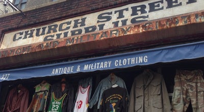 Photo of Thrift / Vintage Store Church Street Surplus at 327 Church St, New York, NY 10013, United States