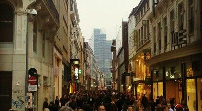 Photo of Pedestrian Plaza Nieuwstraat / Rue Neuve at Rue Neuve / Nieuwstraat, Bruxelles / Brussel 1000, Belgium