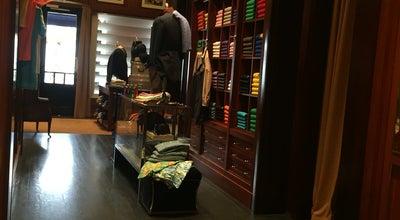 Photo of Clothing Store Ralph Lauren at Komedieplaats 12, Antwerp 2000, Belgium