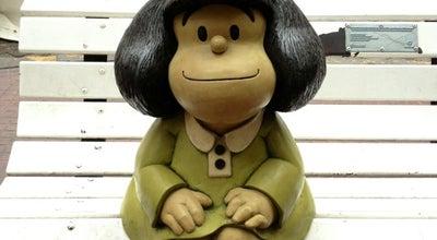 Photo of Outdoor Sculpture Monumento a Mafalda at Defensa 700, Buenos Aires, Buenos Aires C.F., Argentina