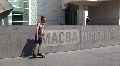 Photo of Skate Park MACBA Skate Spot at Plaça Dels Àngels, Barcelona 08001, Spain