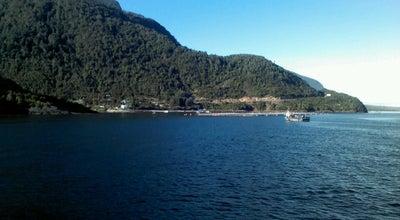 Photo of Lake Estuario de reloncavi at Chile