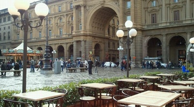 Photo of Italian Restaurant Caffè Gilli at Piazza Della Repubblica 39r, Florence 50123, Italy