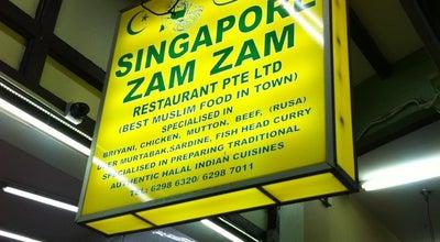 Photo of Indian Restaurant Zam Zam at 699 North Bridge Rd, Singapore 198676, Singapore