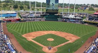 Photo of Tourist Attraction Kauffman Stadium at 1 Royal Way, Kansas City, MO 64129, United States