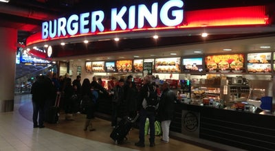 Photo of Fast Food Restaurant Burger King at Market Foodcourt, Lounge 1, Schiphol, Netherlands