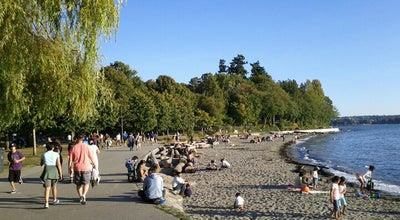 Photo of Beach Second Beach at 8501 Stanley Park Dr, Vancouver, BC V6G 3E2, Canada