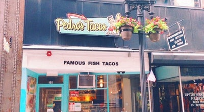 Photo of Mexican Restaurant Pedro's Tacos at 55 Bromfield St, Boston, MA 02108, United States