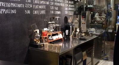 Photo of Cafe Kaffa Roastery at Pursimiehenkatu 29, Helsinki 00150, Finland