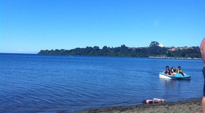 Photo of Beach Playa Puerto Chico at Costanera Vicente Perez Rosales, Puerto Varas 555000, Chile