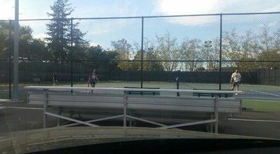 Photo of Tennis Court Palo Alto HS Tennis Courts at El Camino Real, Palo Alto, CA 94306, United States