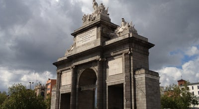 Photo of Monument / Landmark Puerta de Toledo at Madrid, Spain