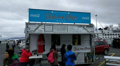 Photo of Food Truck The Icelandic Fish and Chips Wagon at Iceland