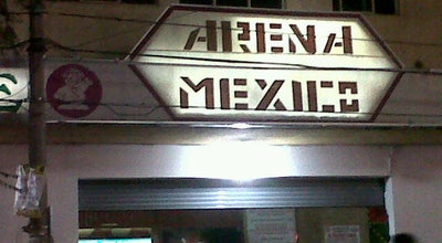 Photo of Tourist Attraction Arena Mexico at Ave. Granjas, Mexico City 06720, Mexico