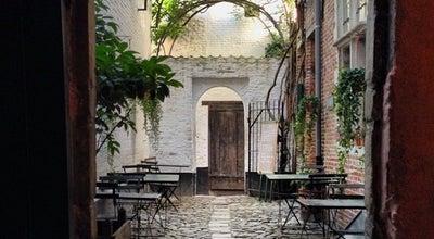 Photo of Historic Site Vlaeykensgang at Oude Koornmarkt Nr 16, Antwerp 2000, Belgium
